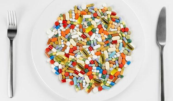 Тарелка таблеток