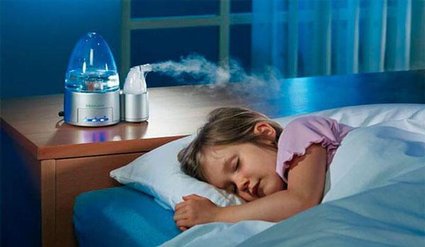 Очиститель воздуха в детской