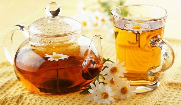 Чай из ромашки при бронхите