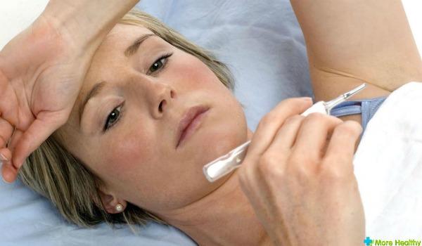 Почему может держаться температура после пневмонии?