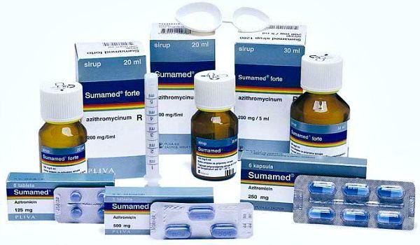 Лекарство сумамед: описание и характеристики приема